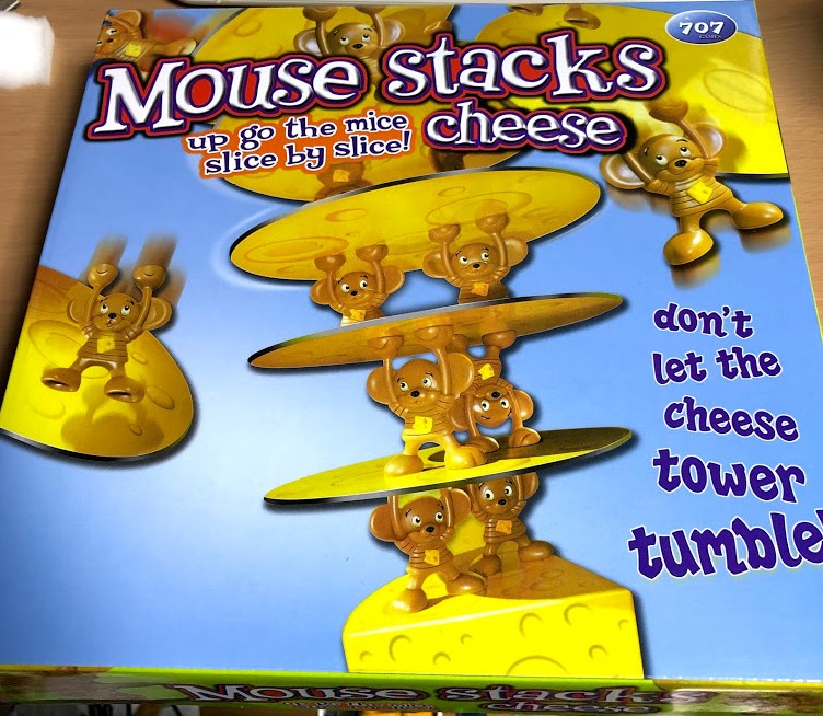 Mouse Stacks cheese